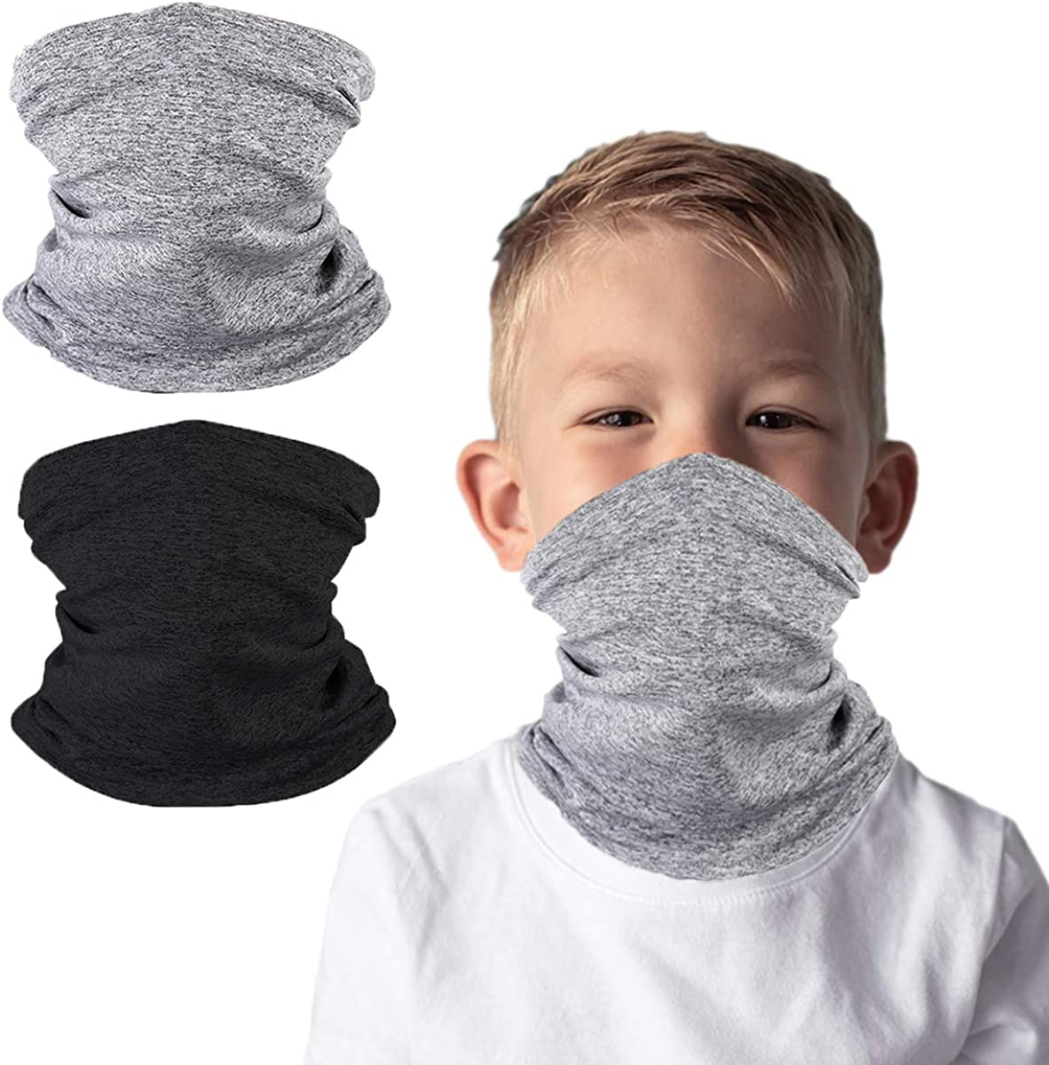 Kids Face Cover Neck Gaiter for Cycling Hiking Fishing Sport...