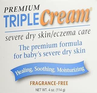 Summers Laboratories Triple Cream Eczema Care for Dry Skin Jar, 4 oz.