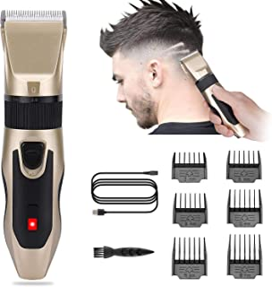 MIAODAM Hair Clipper Set Professional Hair Clipper Hair Clipper Kit for Men, Household Hair Clipper Kit
