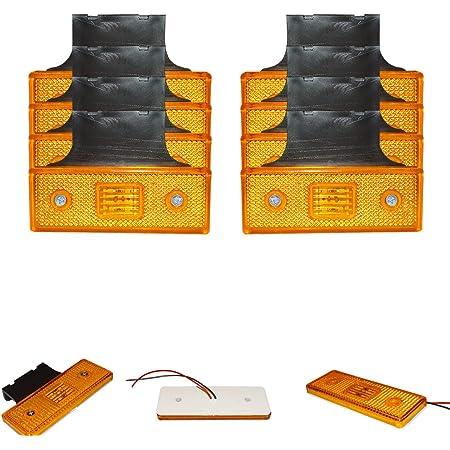 A1 10 X Led 12v Orange Begrenzungsleuchte Positionsleuchte Seitenmarkierungsleuchte Lkw Auto