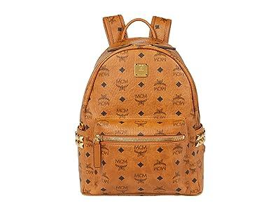 MCM Stark Backpack Small (Cognac) Backpack Bags