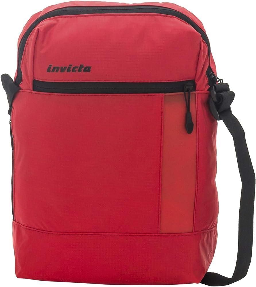 Invicta vertical shoulder bag borsello messenger unisex T10525-45030