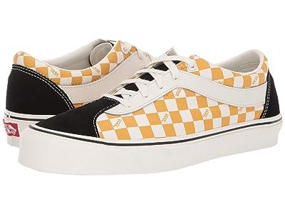 Vans Bold Ni ((Checkerboard) Black/Mango Mojito) Athletic Shoes