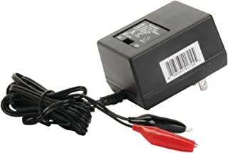 UPG D1724 Sealed Lead Acid Battery Charger (6V/12V Switchable Single-Stage With Alligator Clips)