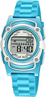 Kids Digital 8 Alarm Vibrating Watch Medication Reminder...