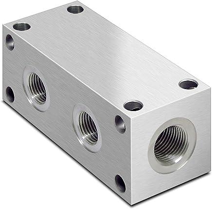 Hidr/áulico 2 bola de la manera v/álvula con orificios de fijaci/ón RS 2 VIE 1 FF