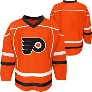 Outerstuff Philadelphia Flyers Orange Blank Youth Home 1 Stripe Fashion Jersey