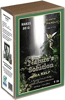 Nature's Solution NTSKELP1 Organic Sea Kelp Fertilizer, 1 lb