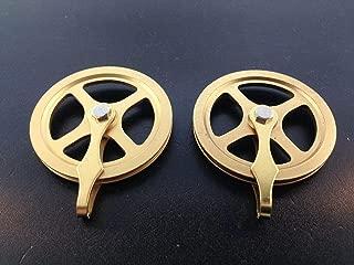 Clock Pulley Set of 2 Kienenger Movements Original 1 3/4