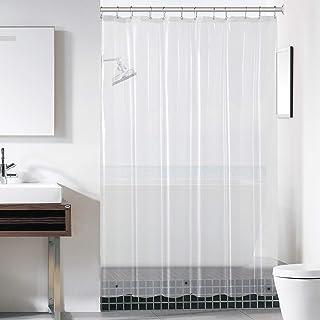 "downluxe Shower Curtain Liner - PEVA 8 Gauge Light Weight,Waterproof,Odorless with Rust-Resistant Grommets Holes 72"" X 72""..."