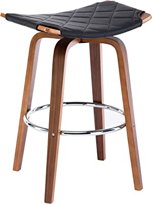 Amazon Com Coaster 105253 Co 24 Quot Counter Stool In Black
