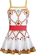 CHICTRY Little Girls' Princess Movie Cosplay Dresses Ballerina Camisole Tutu Dance Leap Leotard Costume