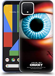 Official Seed of Chucky Poster Key Art Soft Gel Case Compatible for Google Pixel 4