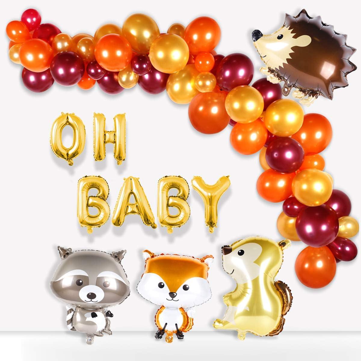 Woodland Baby Shower All items free shipping Balloon – Sacramento Mall B Garland Creatures