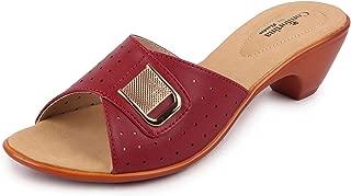 BATA Women's Block Heel Slippers