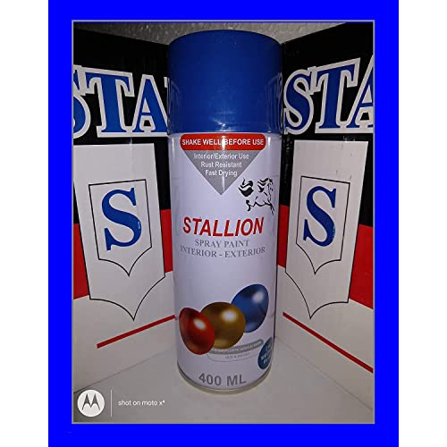 f22 F1 Aerosol Spray Paint for Car, Bike, Cycle (240 g, Medium Blue)