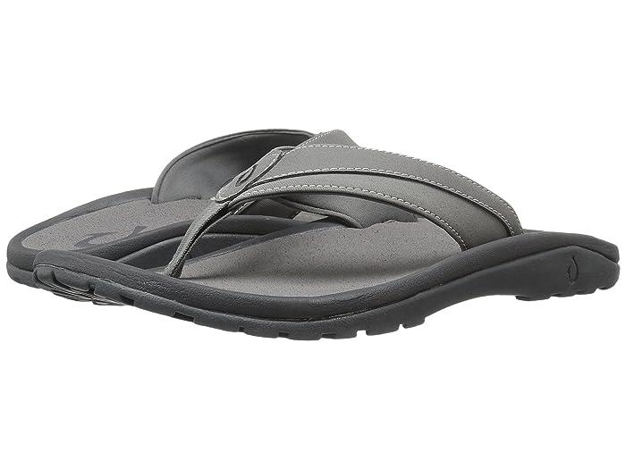 'Ohana Koa  Shoes (Charcoal/Charcoal) Men's Sandals