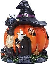 Colcolo Decoração de bruxa da casa de abóbora de Halloween para sala de estar de festa de feriado Decoração de cabeceira d...