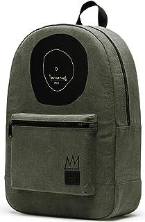 هيرشيل حقيبة ظهر كاجوال يومية للجنسين - اخضر