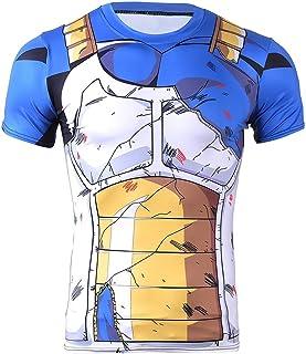 CoolChange Maglietta Cosplay di Vegeta | Costume per i Fan di Dragon Ball | Talla: L