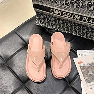 dihui Neoprene Sandals,Human graphics, non-slip cool slippers, wearing a breathable pin female cool slippers-Pink_5,Sandal...