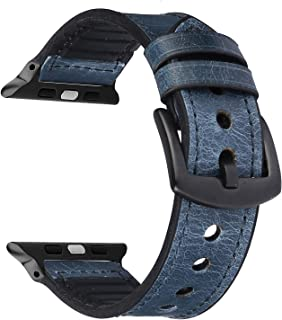 Applicable Apple Watch with Apple Watch Leather Silicone Strap 1234