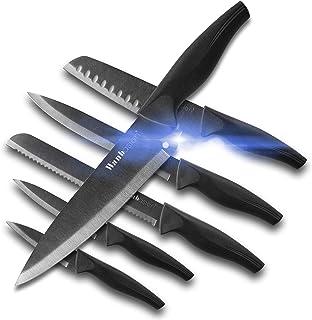 Wanbasion Juego de cuchillos de cocina Cooking Chef, juego