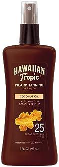 Hawaiian Tropic Tanning Oil Pump Spray