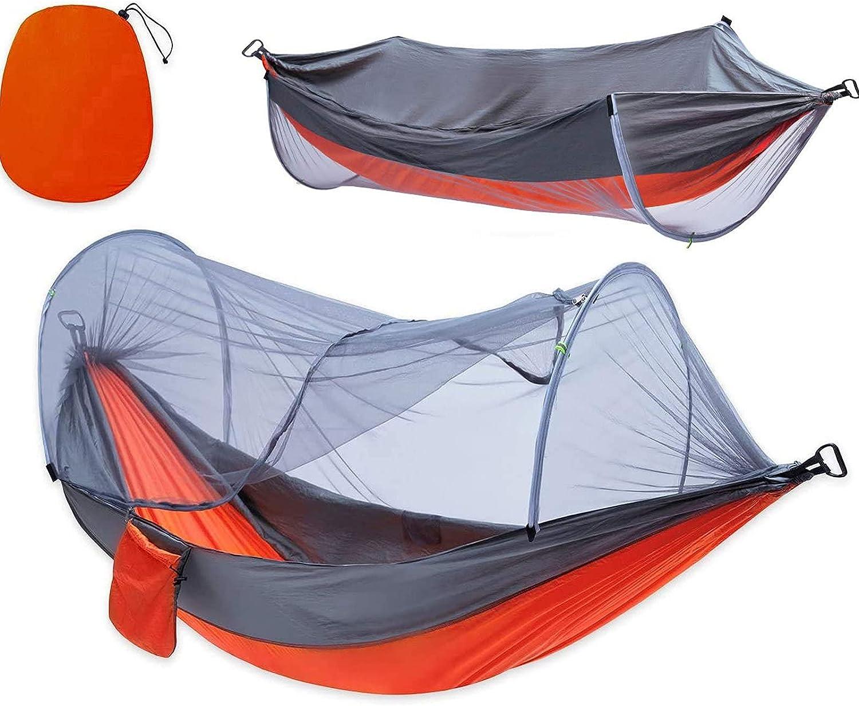 Camping Hammock Portable Nylon Milwaukee Mall Parachute Stra with Tree Max 52% OFF Hammocks