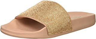 Women's Pop Ups-Stone Age-Rhinestone Shower Slide Sandal