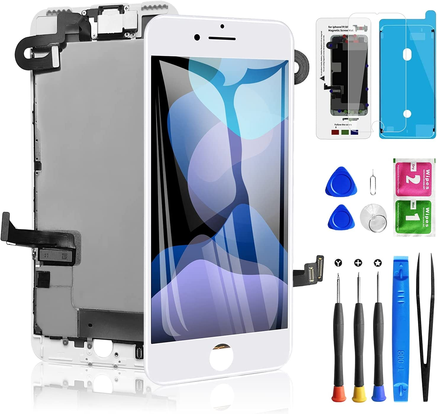 for iPhone 7 Plus Screen Replacement White 5.5