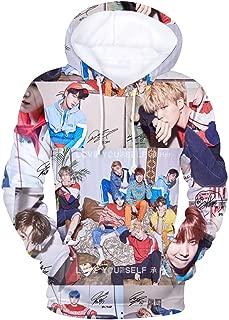 "Bosunshine BTS 《Love Yourself 结 ""Answer》Hoodie Sweater V Rap-Monster Suga Jin Jimin J-Hope Jung Kook Jacket Pullover"