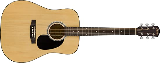 Squier by Fender SA-150 Squier Beginner Dreadnought Acoustic Guitar - Natural Finish
