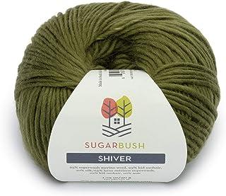 Sugar Bush Yarns Shiver Yarn 50g Snowy Spruce