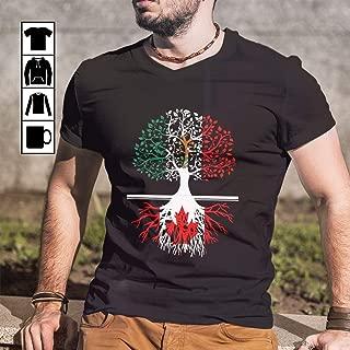 Living In Poturgal With Canada Root Poturgal Canada T-Shirt Long Sleeve Sweatshirt Hoodie for Men and Women