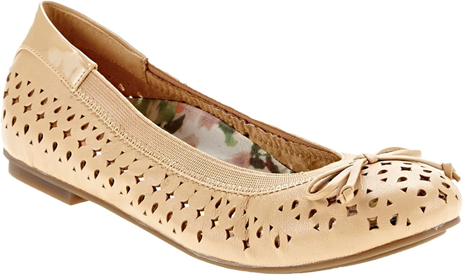 Vionic Womens 359 Spark Surin Nude Leather shoes 8 US