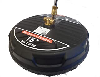 Ultimate Washer UWSC15B 15-Inch Surface Cleaner Power Washer Attachments, Replaces Karcher T400 86410350 and Generac 6132, 3100 PSI Rating