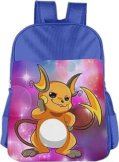 Raichu Pokemon Children's Bags Kid School Bag Boy Girl Backpack