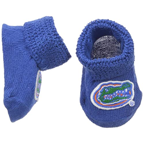 d5d7b7523 Two Feet Ahead NCAA Florida Gators Infant Gift Box Booties, One Size, Royal