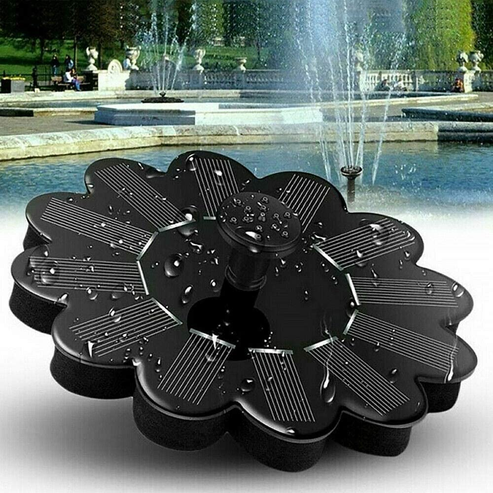 ZLBYB Solar Fountain Garden Kit Landsca Over item handling Pump Water Max 67% OFF Outdoor