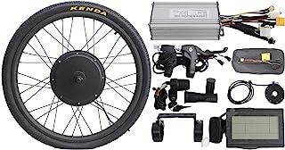 "HALLOMOTOR 36V 48V 500W 20"" 24"" 26"" 28"" 29er 700C Front Wheel or Rear Wheel ebike Electric Bicycle Conversion Kits"