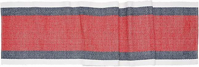 C&F Home Americana Liberty Stripe Patriotic 4th of July Memorial Day Labor Day Americana Liberty Decorative Table Runner Table Runner Red, White, Blue