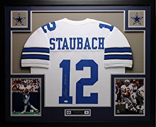 roger staubach signed jersey
