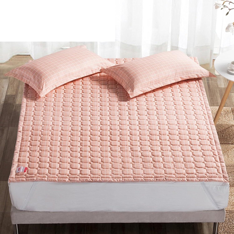 Mattress Double Tatami Mattress Predector Thin Non-Slip Bed mat Thickening Bedroom Mattress-J 90x200cm(35x79inch)