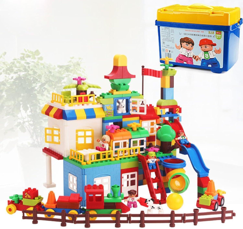 SEJNGF Kinderbausteine Plastik Zusammengebaute Kindergartengleitbahn Pdagogische Spielwaren