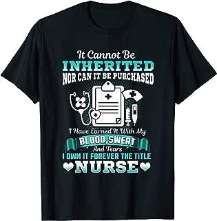 Nursing School Graduation Gift Shirt RN LPN Nurse Grad 2019