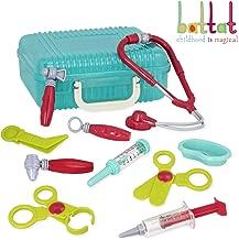 Battat – Deluxe Doctor Kit – Pretend Play Doctor Set for Kids 3 Years + (11-Pcs)