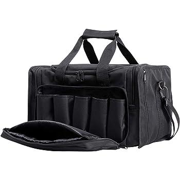 Tactical Deluxe Range Duffle Bag 1200D Oxford Pistol Gun Ammo Hunting Tote Bag