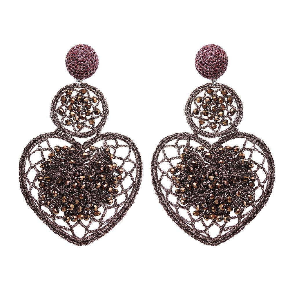 Heart-shaped Earrings Fort Worth Mall trend rank 4.3