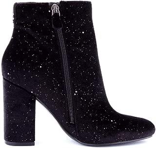 Guess Luxury Fashion Womens FL8LA3ESU10BLACK Black Ankle Boots | Fall Winter 19